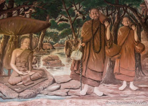 วัดโพธิ์้บ้านโนนทัน ขอนแก่น ผญาอีสาน คำสอน หลวงปู่โพธิ์